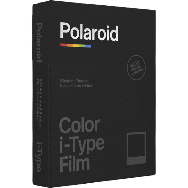 Polaroid I-TYPE Colour Black Frame (8 shots)