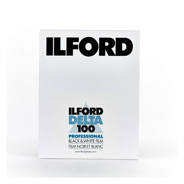 Ilford Delta 100 Professional Black & White Film (4x5 inches, 25sheets, ISO100)