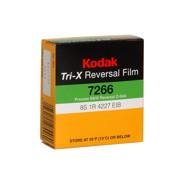 Kodak Tri-X (Super 8, 50' Roll) Film