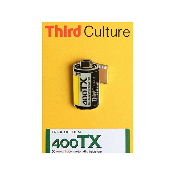 Third Culture 'Tri-X' Enamel Pin