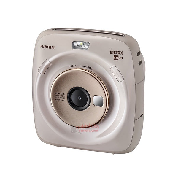 Fujifilm Instax SQ20 Digital Instant Camera (Beige)