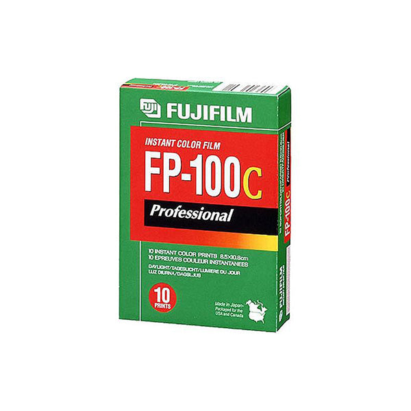 FUJIFILM FP100C Instant Pack Film (100ISO, 10 Sheets)