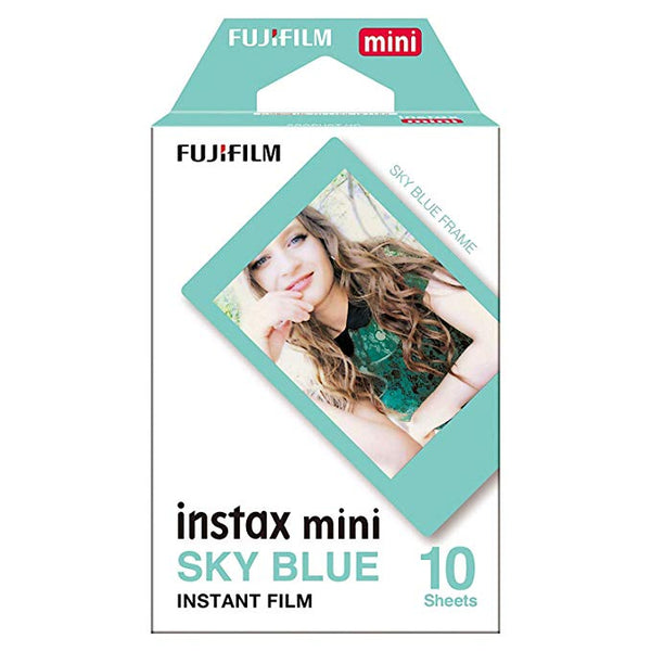 Fujifilm Instax Mini (Sky Blue Border)