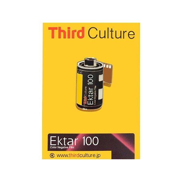Third Culture 'Ektar 100' Enamel Pin