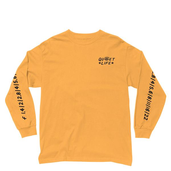 Quiet Life - Camera Club Eye (L/S T-Shirt, Gold)