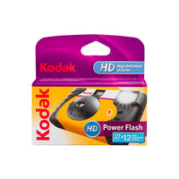 Kodak Disposable Camera HD with Power Flash (135, 39exp, 800ISO)