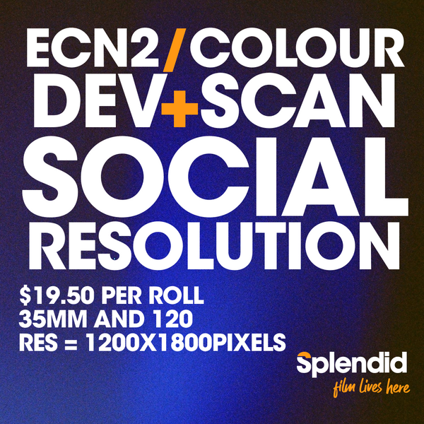 Develop and Scan - Social Resolution (ECN2/Colour Film)