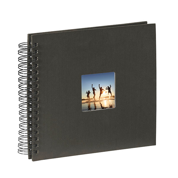 Hama Spiral Bound Black Page Album (36cm x 32cm, 50 Pages)