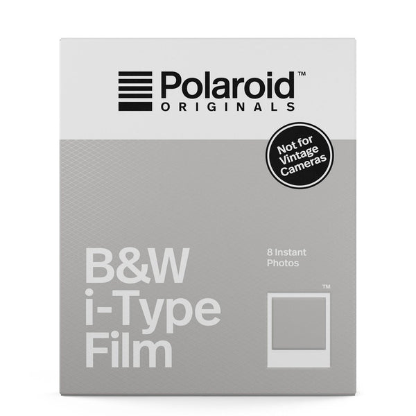 Polaroid I-TYPE B&W (8 shots)