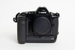 S/hand Canon EOS1N Body + Battery Pack (BP-E1)