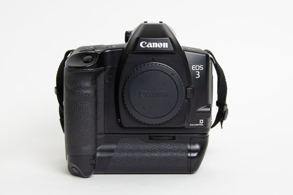 S/hand Canon EOS3 Body + Power Drive Booster E1