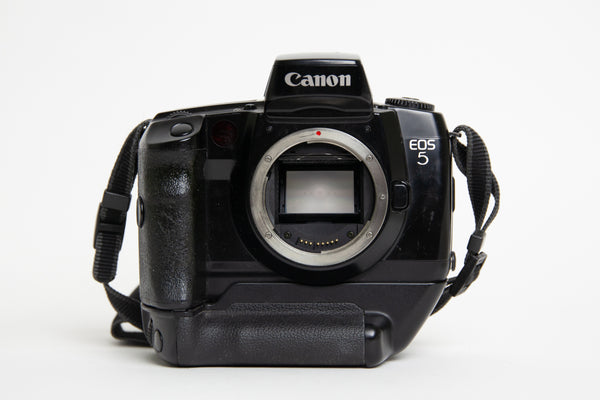 S/hand Canon EOS5 Body + Vertical Grip (VG-10)