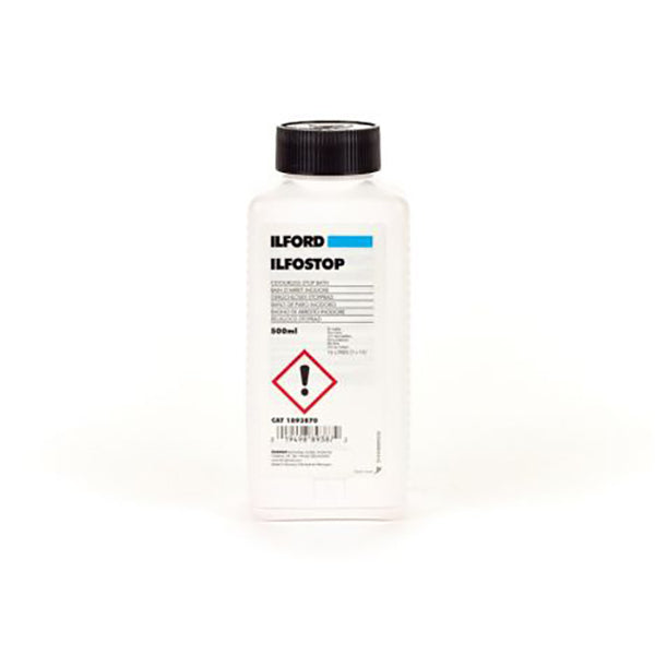 Ilford Ilfostop (500ml Concentrate)