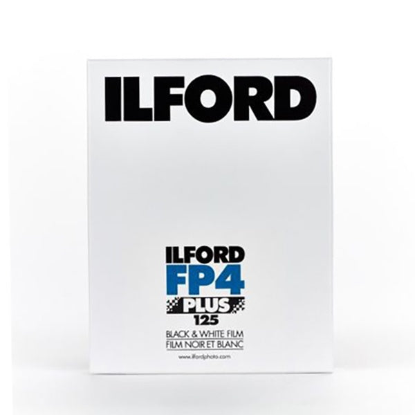 Ilford FP4Plus (8x10, 25 sheet, 400ISO)