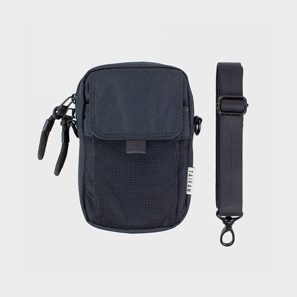 Taikan Everything Raven Hip Bag (Black)