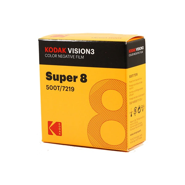 Kodak VISION3 500T (Super8, 50' Roll) Colour Negative