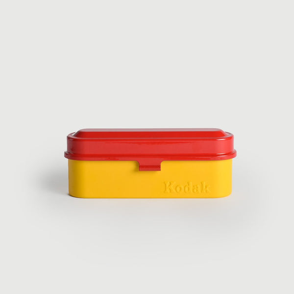 Kodak Film Case (5x 135, Yellow/Red)