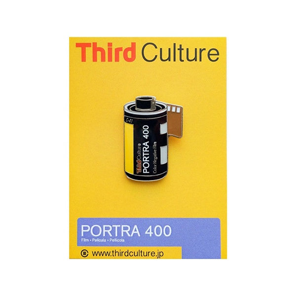Third Culture 'Portra 400' Enamel Pin