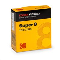 Kodak VISION3 200T (Super 8, 50' Roll) Colour Negative