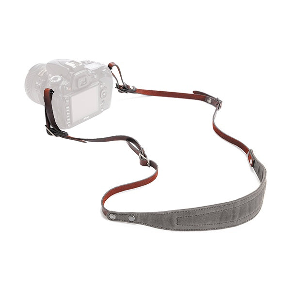 ONA Lima Canvas Camera Strap (Smoke)