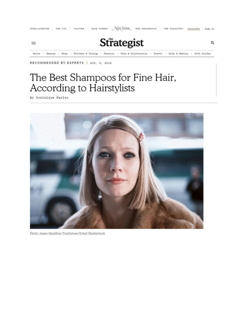 """Best Shampoos for Fine Hair, According to Hairstylists"""