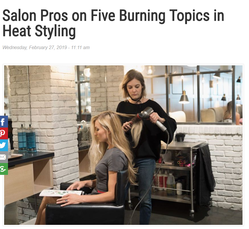 Beauty Launchpad - Salon Pros on Five Burning Topics in Heat Styling