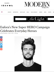 Modern Salon - Eufora's New Super HERO Campaign Celebrates the Everyday Heroes