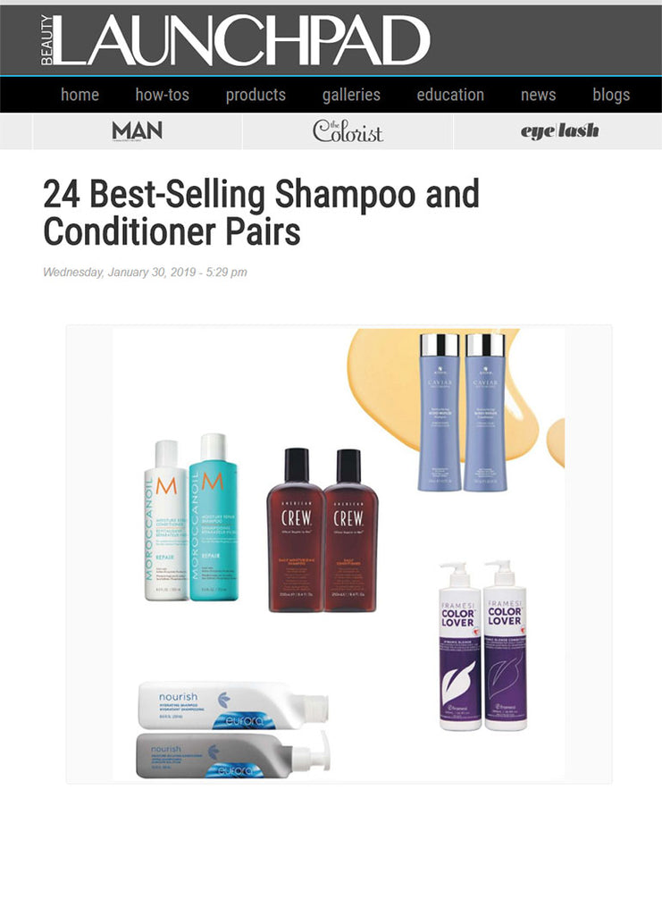 Launchpad.com - 24 Best Selling Shampoo and Conditioner pairs.