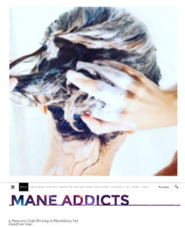 Mane Addicts - 4 Reasons Cold Rinsing is Mandatory