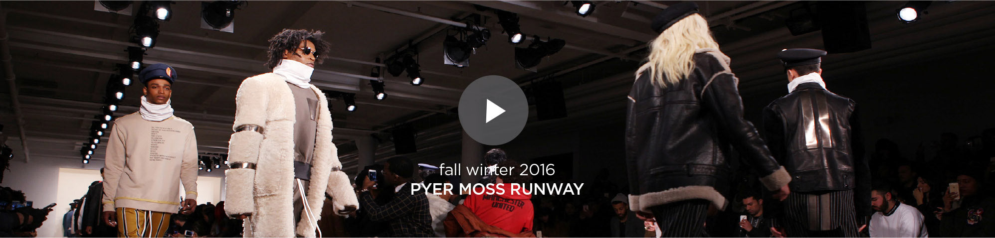 Fall Winter 2016 - Pyer Moss Runway