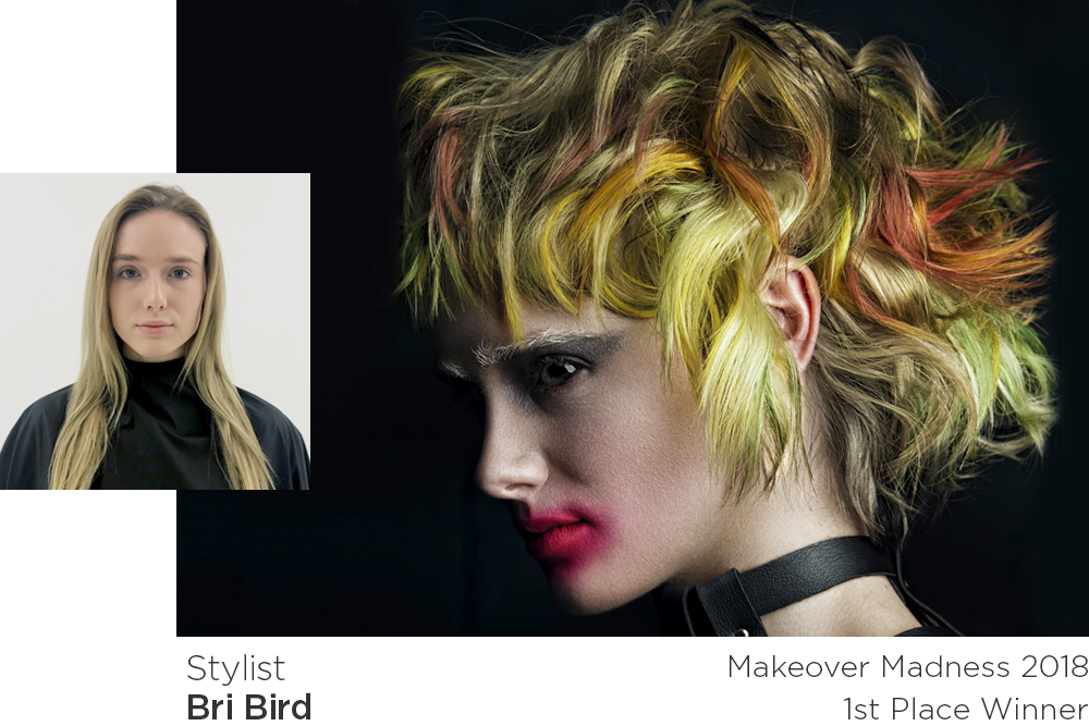 Makeover Madness Transformations 2018 1st place winner - Bri Bird