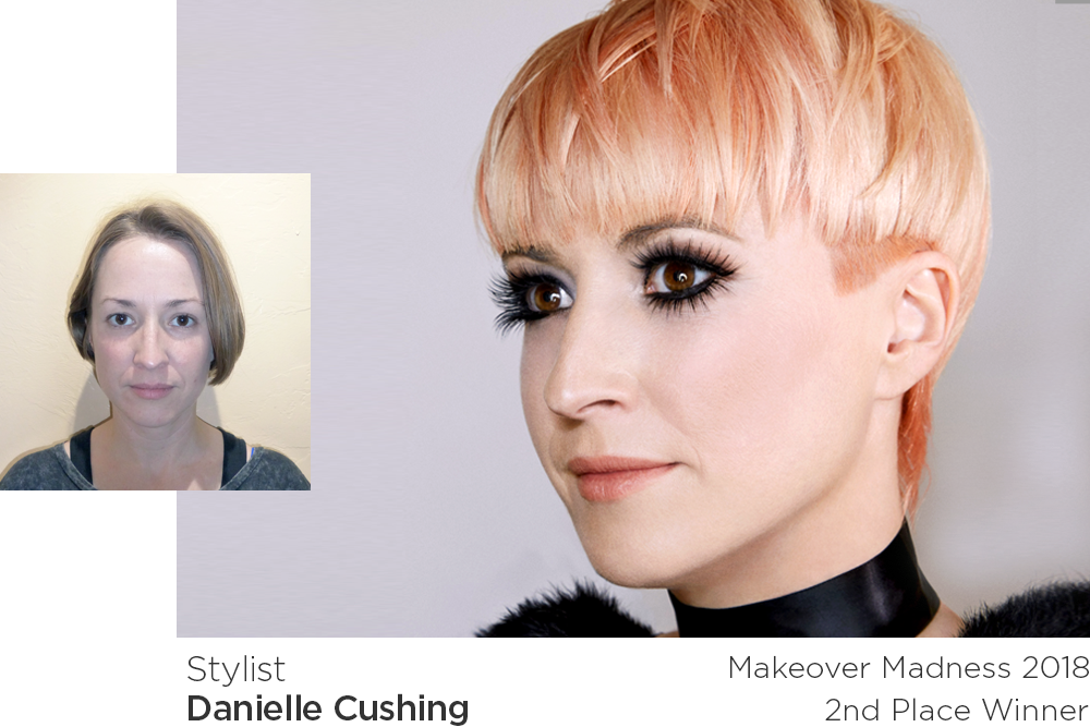 Makeover Madness Transformations 2018 2nd place winner - Danielle Cushing