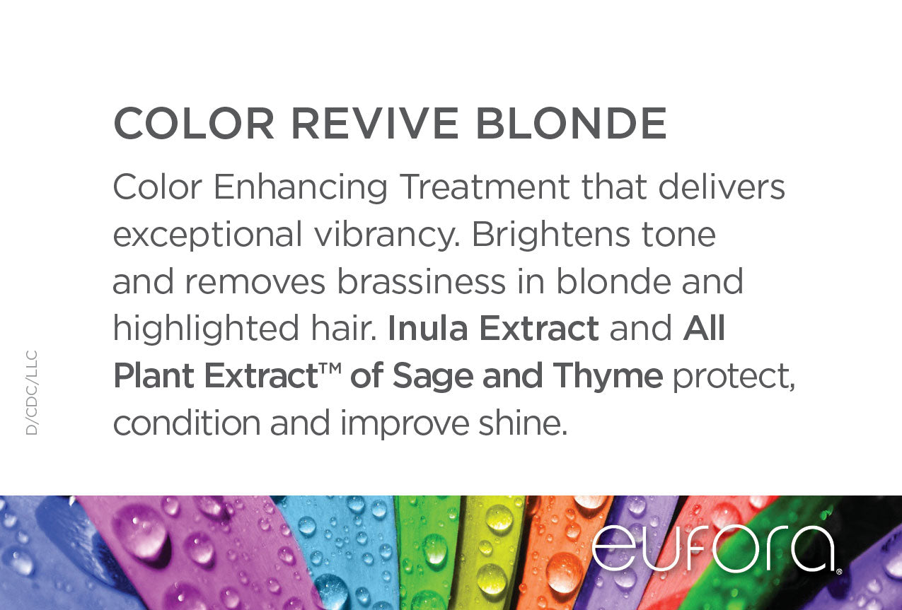 Color Revive Blonde Consumer Display Card