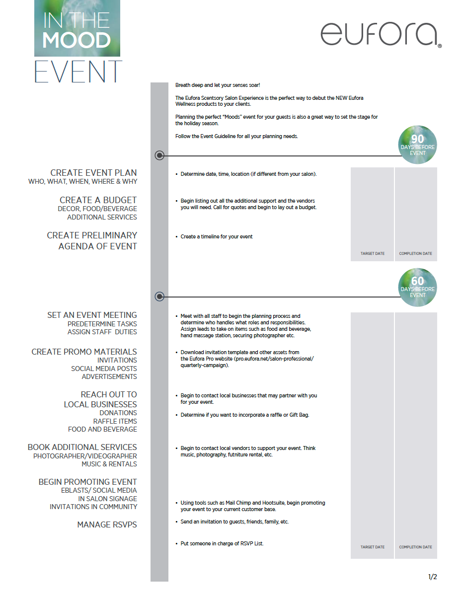 In The Mood Event Planner