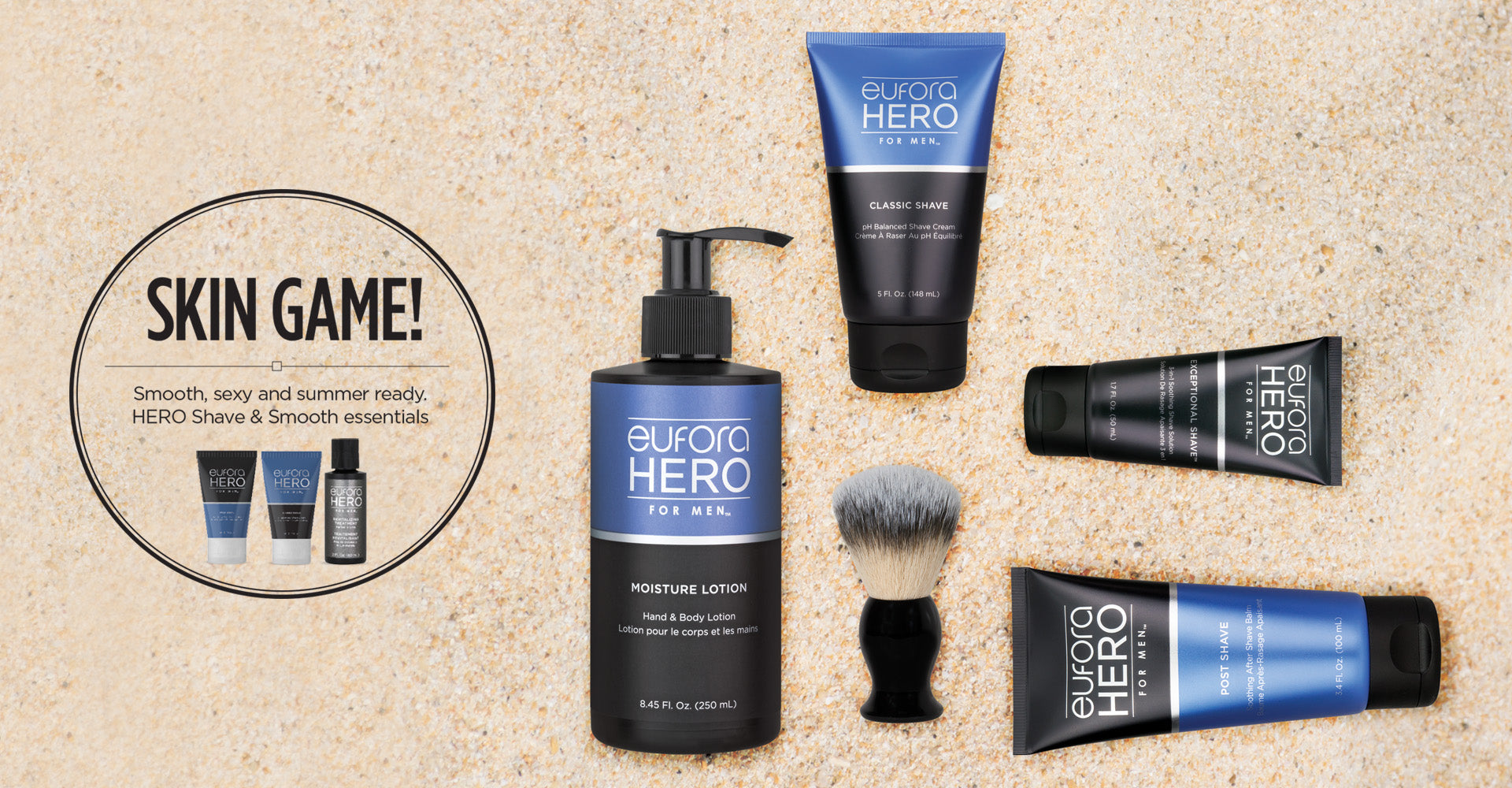 Skin Game | HERO Shave Kit