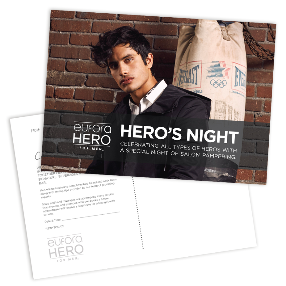 Hero's Night – 5″x7″ Postcard Mailer