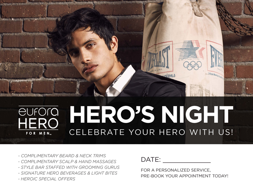 Hero's Night – 8.5″x11″ Counter Card