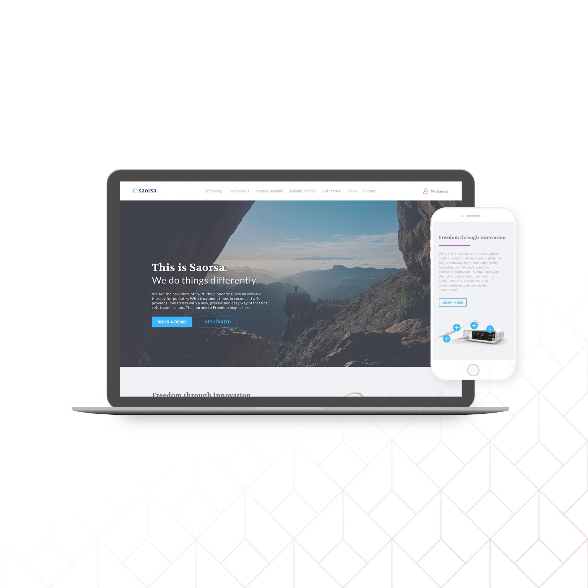 Shopify web design done for an Ottawa client