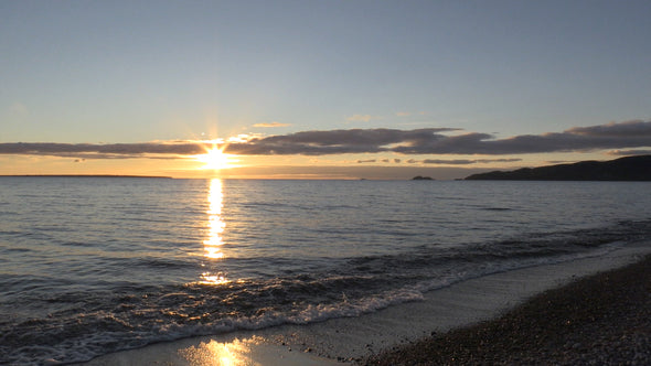 Agawa Bay Sunset