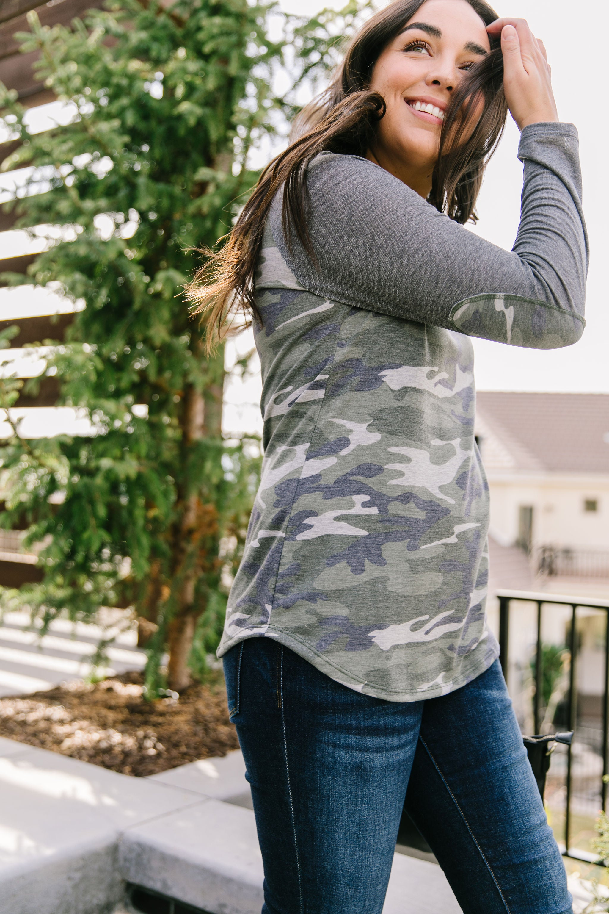 Over and Out Raglan Top