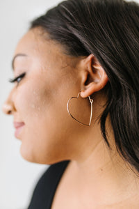 Young At Heart Earrings in 14K Rose Gold