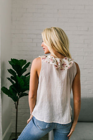 Garden Of Eden Ruffled Top