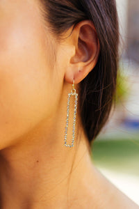 Dangling Delight Earrings In Silver