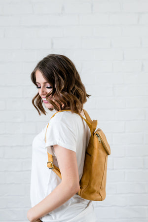 Dijon Distressed Backpack