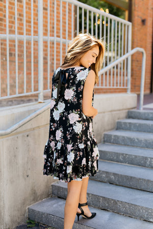 Field Of Flowers Double Ruffle Dress