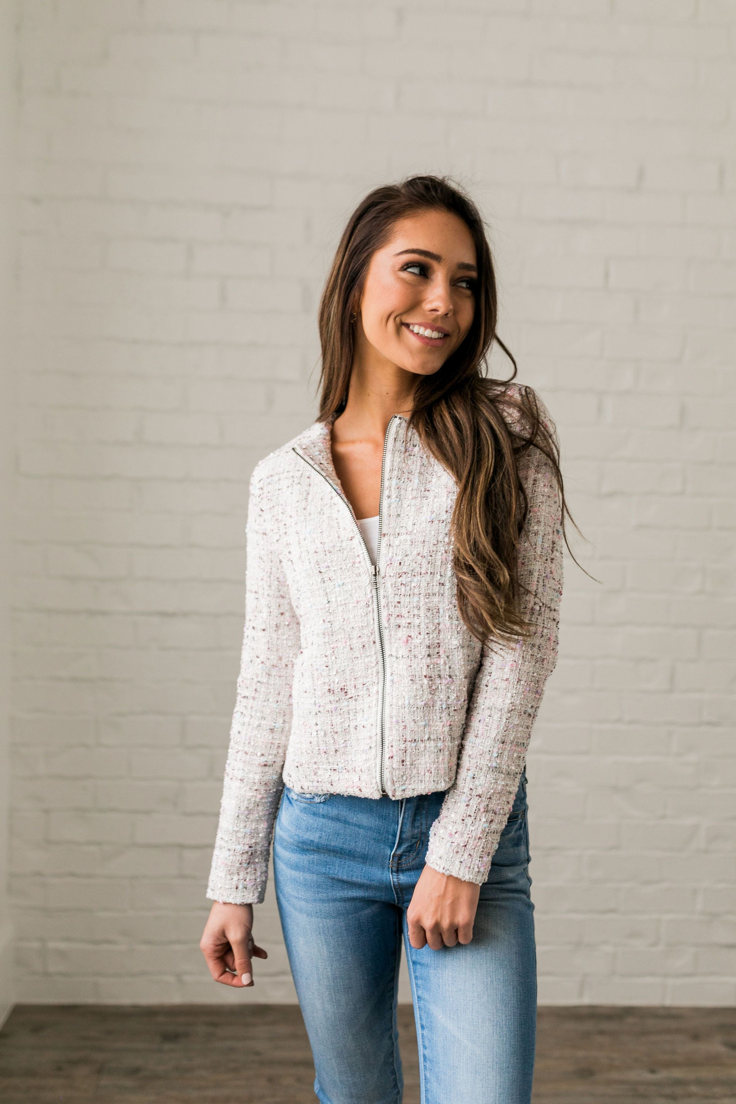 First Lady Cropped Jacket - ALL SALES FINAL