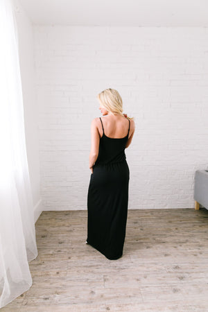 Play The Day Away Maxi In Black