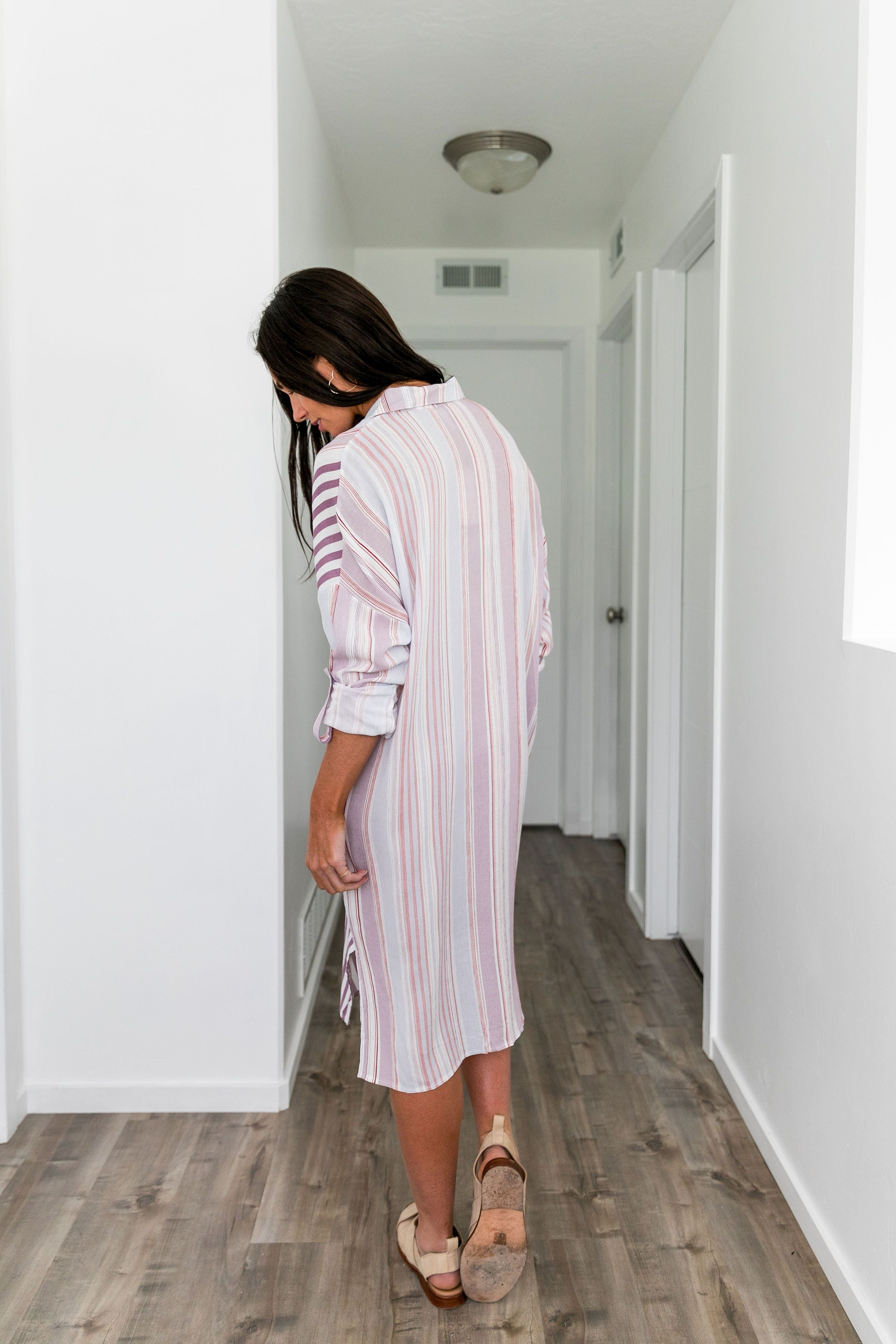 Risky Business Striped Dress - ALL SALES FINAL