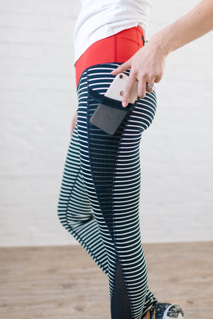 Sprinter Striped Leggings