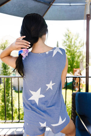 Star Player Top In Blue
